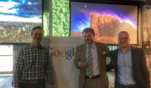 Jacopo Rumi at Google Cloud Platform partner meeting