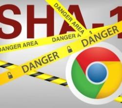 Chrome vs SHA1