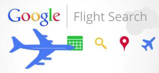 Google flight search. Servizio Google per prenotazione voli aerei