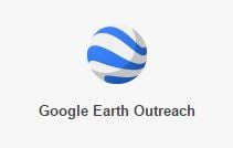 Logo di Google Earth outreach per No profit