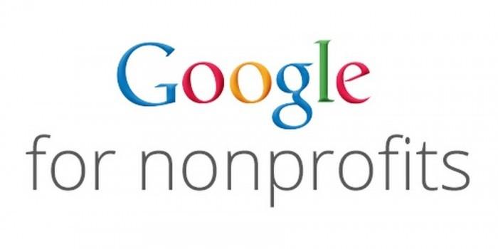 Logo di Google per il No profit