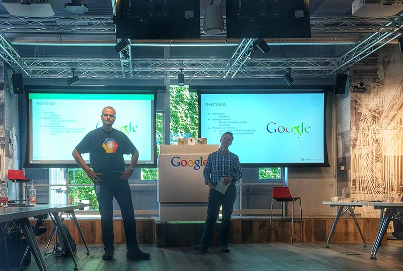 Il meeting google cloud partner negli uffici Google a Milano