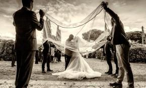 Foto bianco e nero di Celli - Fotografo matrimonio Roma