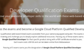Certificazione Google Cloud Platform Qualified Developer