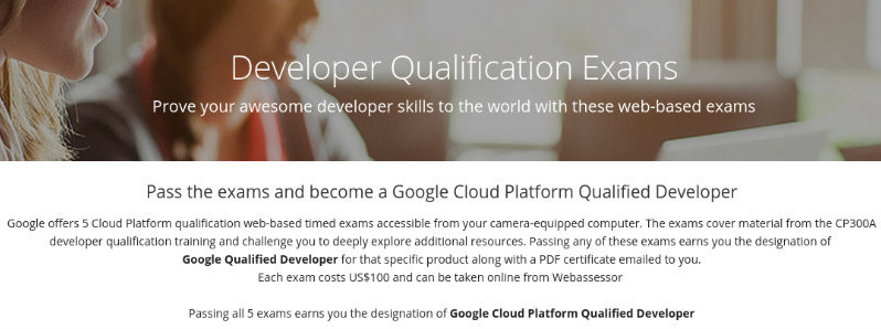 Certificazione Google Cloud Platform Qualified Developer