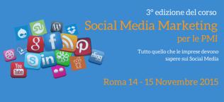 Corso Social Media Marketing per le PMI Roma formula weekend