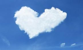 Sicurezza cloud. Nuvola a cuore