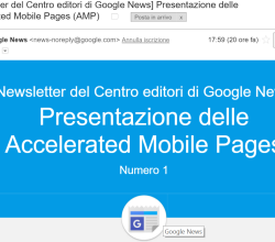 google newsletter