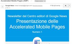 google newsletter