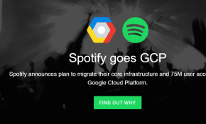 spotify goes gcp
